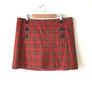 GAP Women's Wool Blend Mini Skirt Size 12